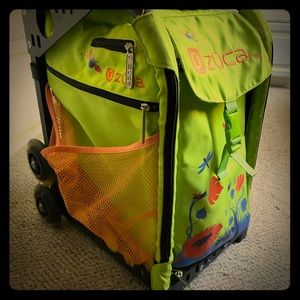 ZUCA bag with light up wheels